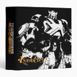 Bumblebee - Black Vinyl Binder