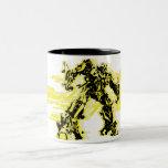 Bumblebee Black & Yellow Two-Tone Coffee Mug