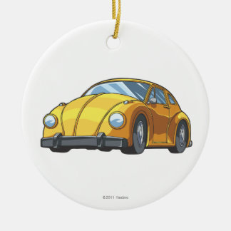 Bumblebee Car Mode Ceramic Ornament
