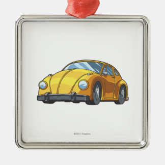 Bumblebee Car Mode Metal Ornament