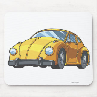Bumblebee Car Mode Mouse Pad