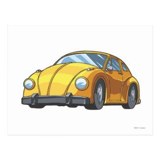 Bumblebee Car Mode Postcard