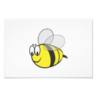 Bumblebee cartoon photo print