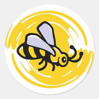 Bumblebee Classic Round Sticker