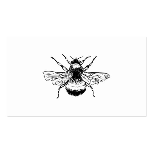 Bumblebee Double-Sided Standard Business Cards (Pack Of 100)