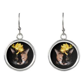 """Bumblebee Exotica"" Drop Earrings"