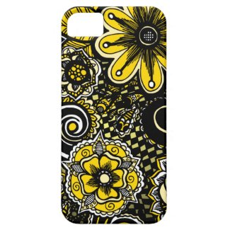 Bumblebee Floral iPhone 5 Cases