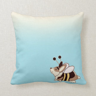 Bumblebee Flying Gus Pillow