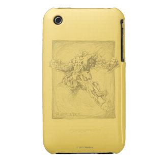 Bumblebee Full Sketch iPhone 3 Case-Mate Case