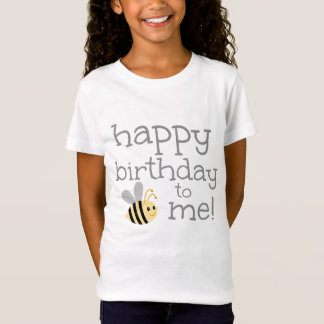 Bumblebee Happy Birthday To Me T-Shirt