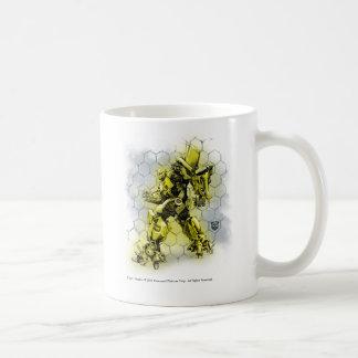 Bumblebee Honeycomb Bkgd 2 Coffee Mug