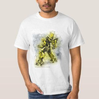 Bumblebee Honeycomb Bkgd 2 T-shirt