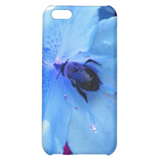 Bumblebee in Blue iPhone 5C Covers