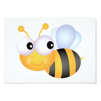 "Bumblebee Invitations 5"" X 7"" Invitation Card"