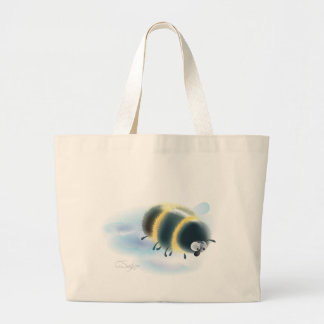 bumblebee jumbo tote bag