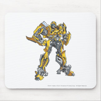 Bumblebee Line Art 1 Mouse Pad