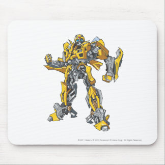 Bumblebee Line Art 2 Mouse Pad