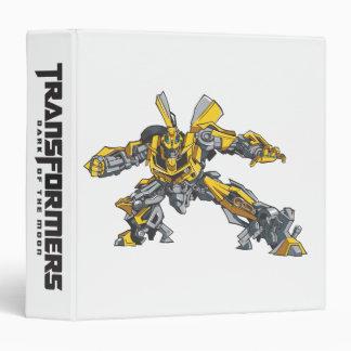 Bumblebee Line Art 3 Binder