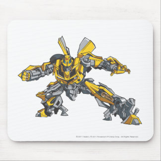 Bumblebee Line Art 3 Mouse Pad