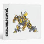 Bumblebee Line Art 4 Binder