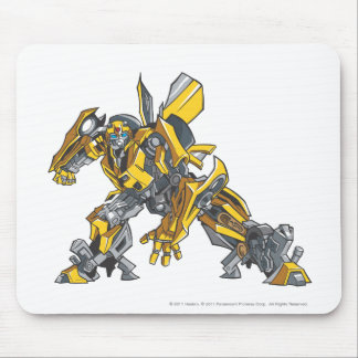Bumblebee Line Art 4 Mouse Pad