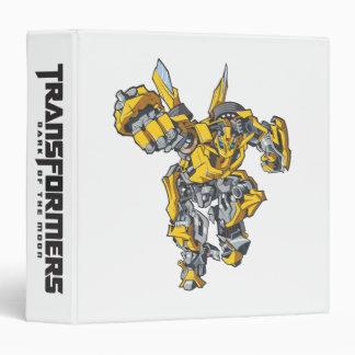 Bumblebee Line Art 6 Binder