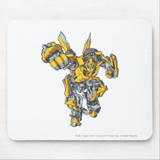 Bumblebee Line Art 6 Mouse Pad