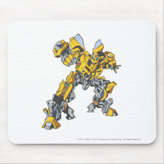 Bumblebee Line Art 7 Mouse Pad
