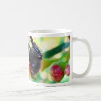 Bumblebee Macro Classic White Coffee Mug