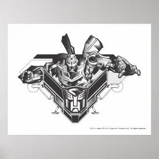 Bumblebee Metal Badge 2 Poster