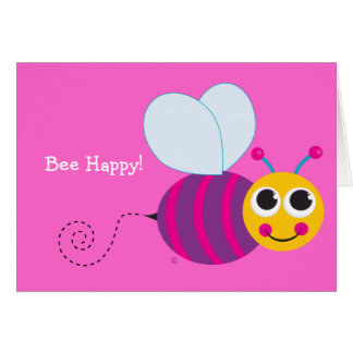 Bumblebee Notecard Stationery Note Card