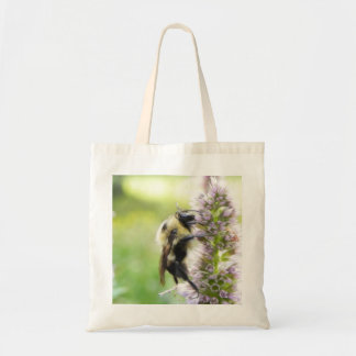 Bumblebee On Agastache Flower Bags