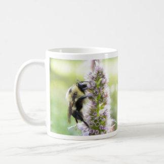 Bumblebee On Agastache Flower Coffee Mug