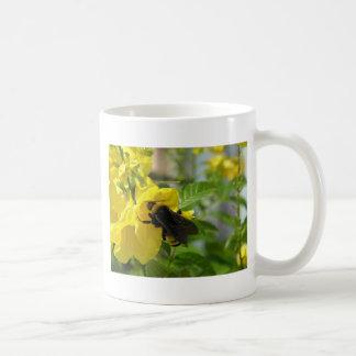 Bumblebee on Esperanza Flower Coffee Mug