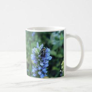 Bumblebee on flower cool photography mug