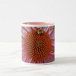 Bumblebee on Flower Mug