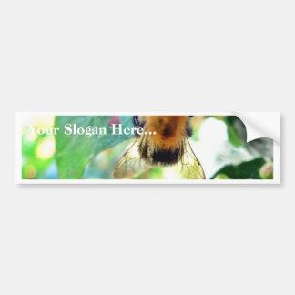 Bumblebee On Tree Bumper Stickers