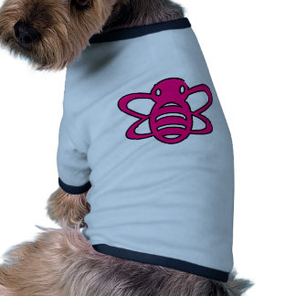 Bumblebee or Bumble Bee Honey Queen Wasp Pink Dog T-shirt