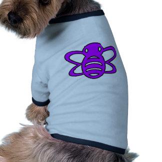 Bumblebee or Bumble Bee Honey Queen Wasp Purple Pet Tee