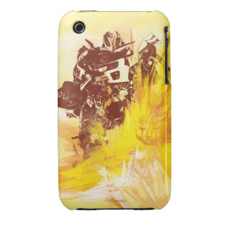 Bumblebee Paint Strokes Case-Mate iPhone 3 Case