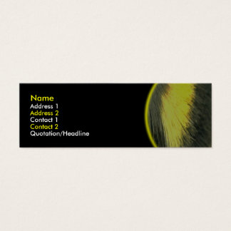Bumblebee Pile BusinessCard Mini Business Card