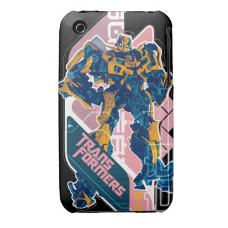 Bumblebee Pink Badge iPhone 3 Cover