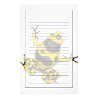 Bumblebee Poison Dart Frog Stationery