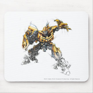 Bumblebee Sketch 1.5 Mouse Pad