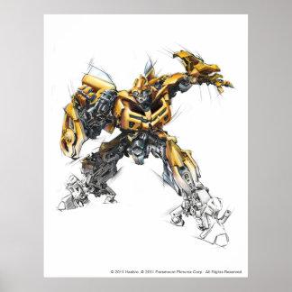 Bumblebee Sketch 1.5 Poster