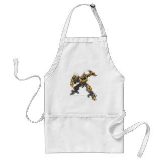Bumblebee Sketch 1 Adult Apron