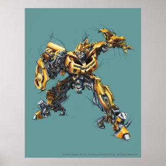 Bumblebee Sketch 1 Poster
