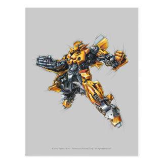 Bumblebee Sketch 2 Postcard
