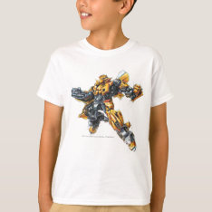 Bumblebee Sketch 2 T-shirt at Zazzle