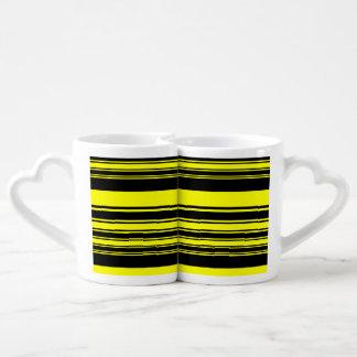 Bumblebee Stripes Coffee Mug Set